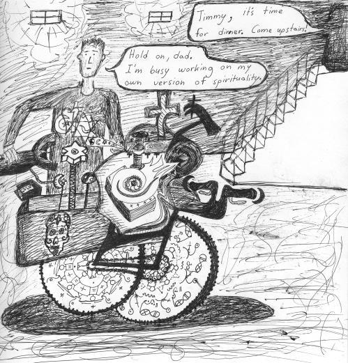 spirituality bicycle